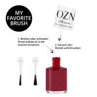 OZN Ebony: plant-based nail polish